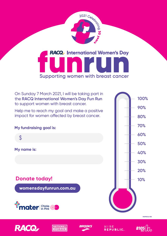 Fundraising Poster Individual