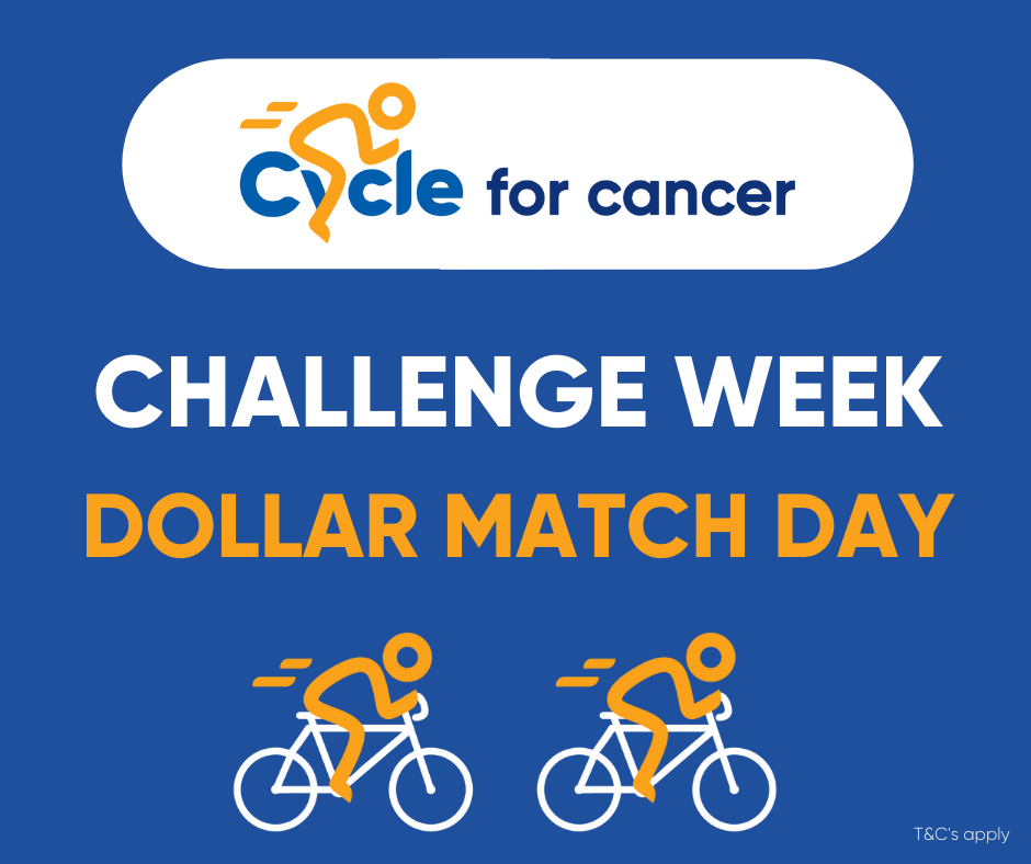 Cycle for Cancer Dollar Match Day 5