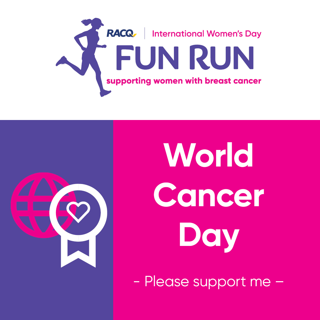 Instagram - World Cancer Day - I could use your support