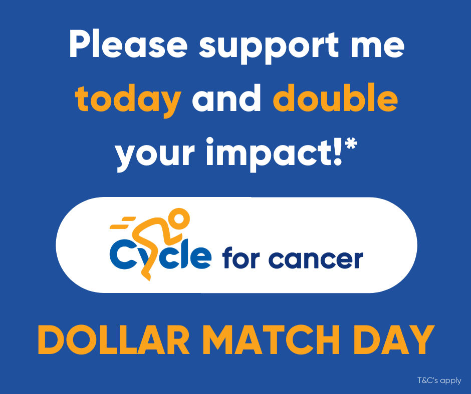 Cycle for Cancer Dollar Match Day 3