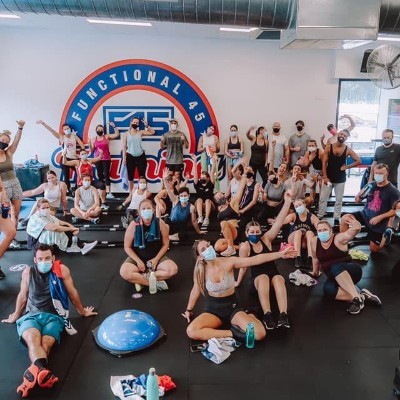 F45 Sippy Downs Team Party Pace Cycling