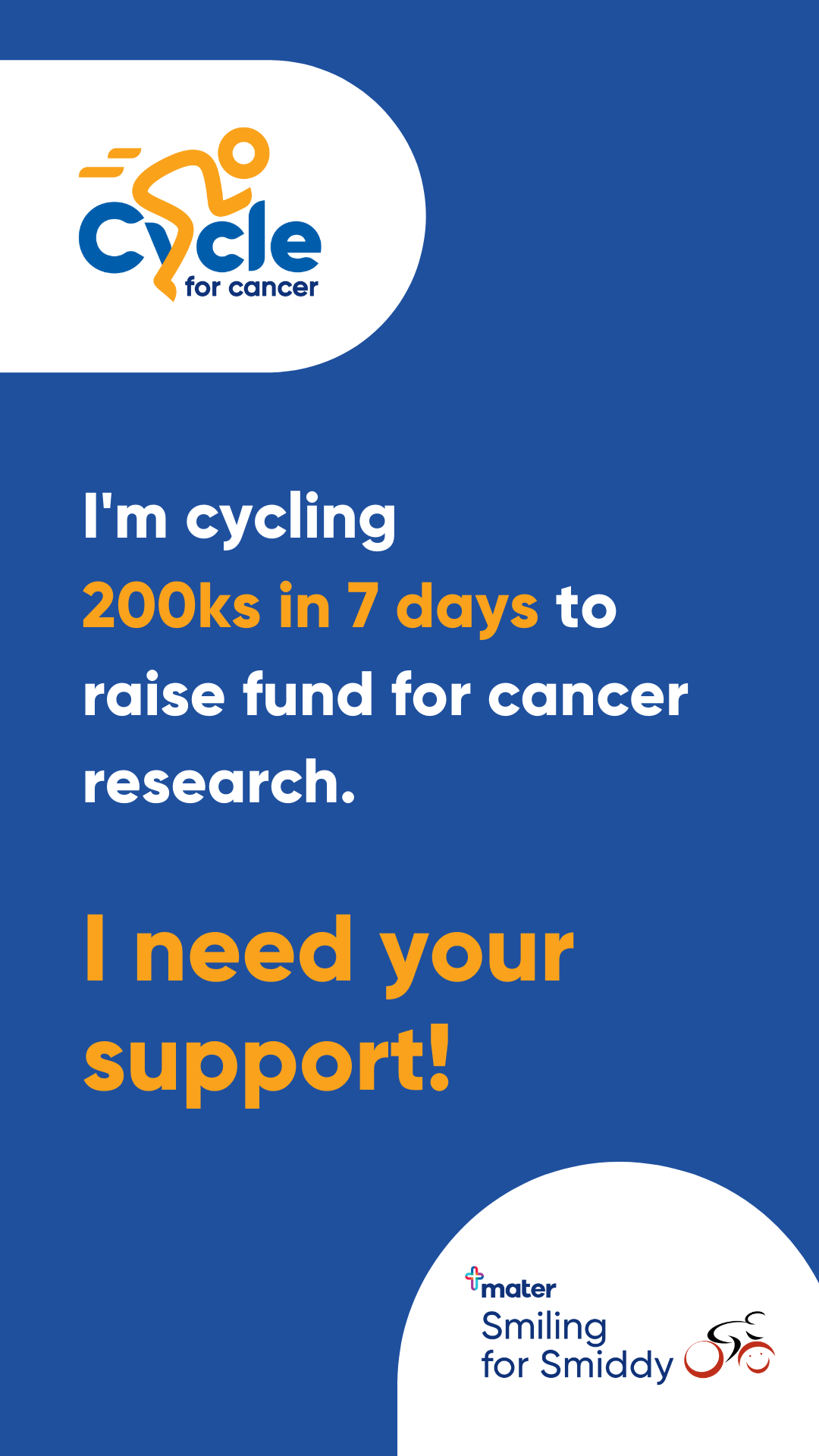 Cycle for Cancer - Story Tile 2