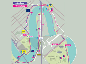 Map of on-course activations.