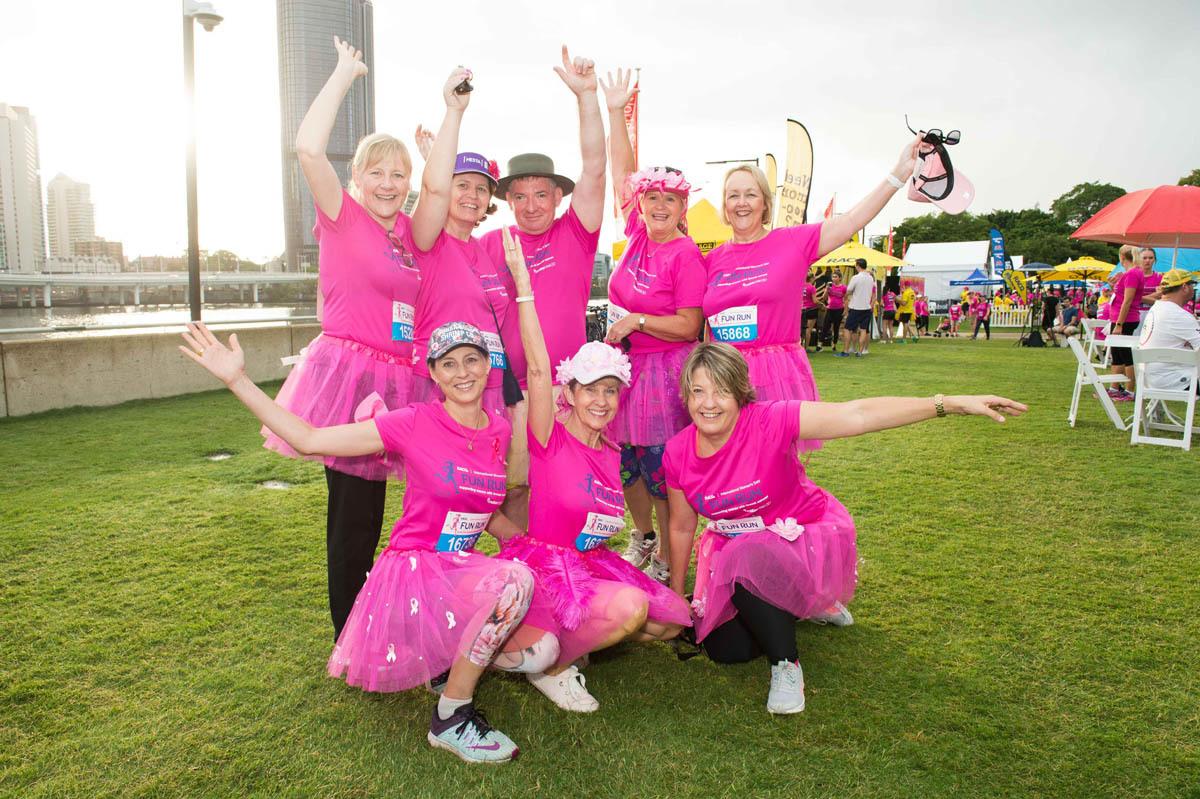 Mater Chicks in Pink fun run