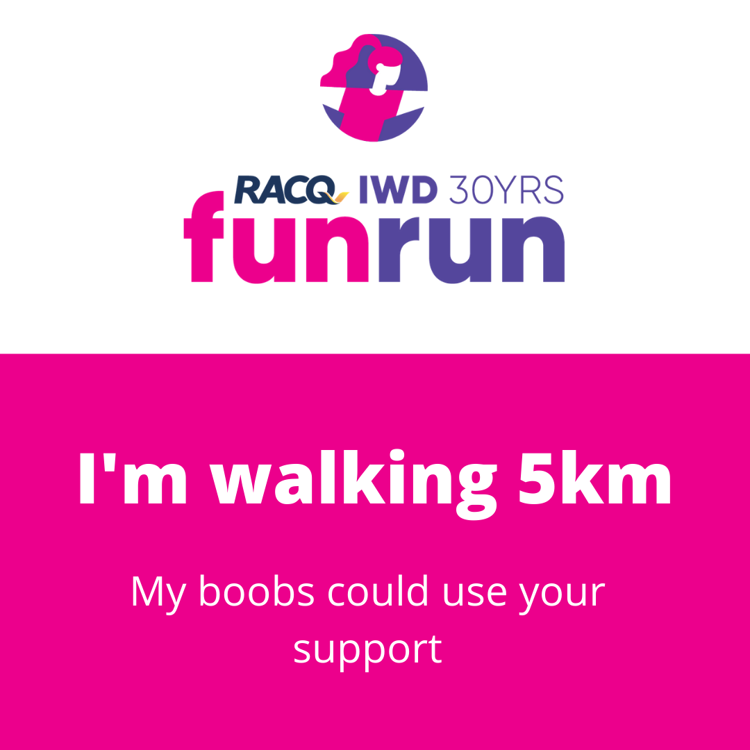 I'm walking 5km support