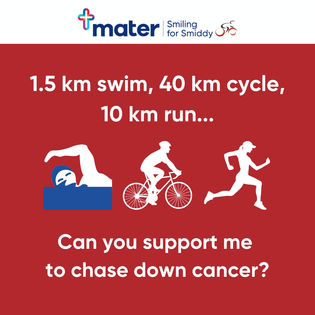 Facebook - Can you support me to chase down cancer?