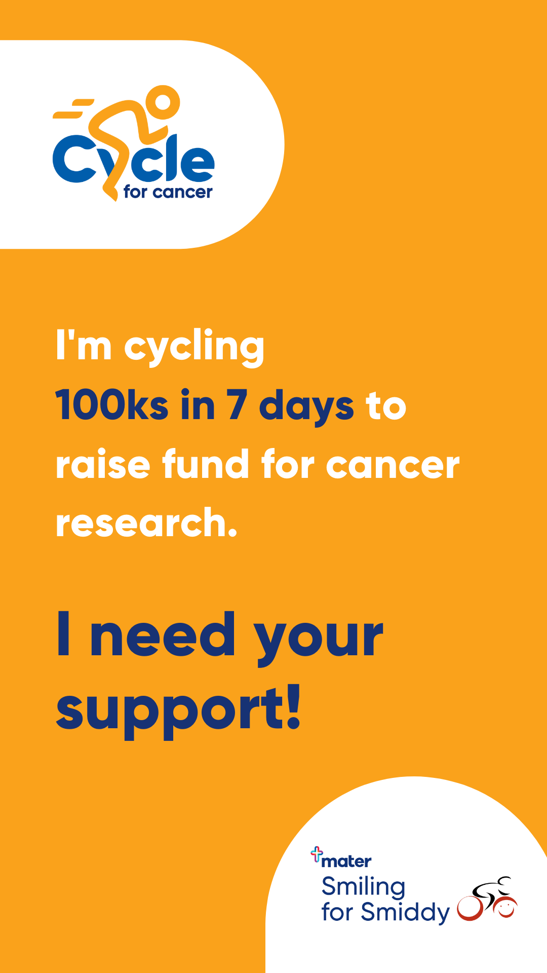 Cycle for Cancer - Story Tile 4